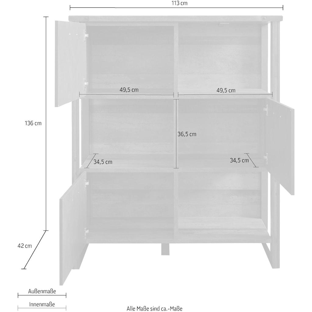 trendteam Regal »Prime«, Höhe 136 cm