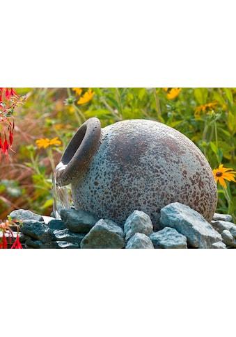 Ubbink Gartenbrunnen »Orange«, (Amphore; Pumpe: 900 l/h, 18 W, 230 V; Becken; Abdeckrost; 10-m-Kabel; Anschlussmaterial) kaufen