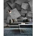 living walls Fototapete »Designwalls Concrete Blocks 1«