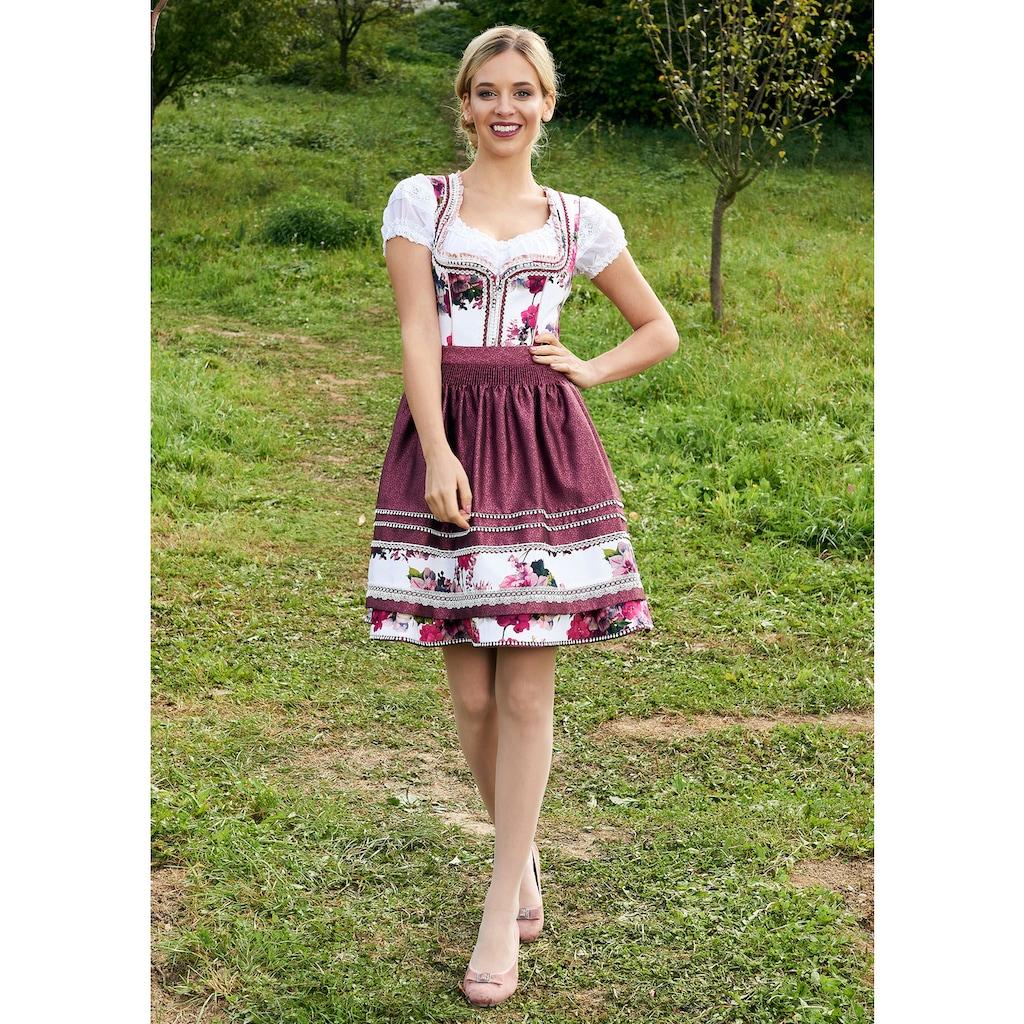 Krüger Madl Dirndlbluse »Ivory«, im Carmen-Look