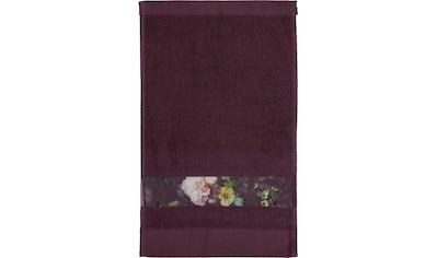"""Gästehandtuch """"Fleur"""", Essenza kaufen"""