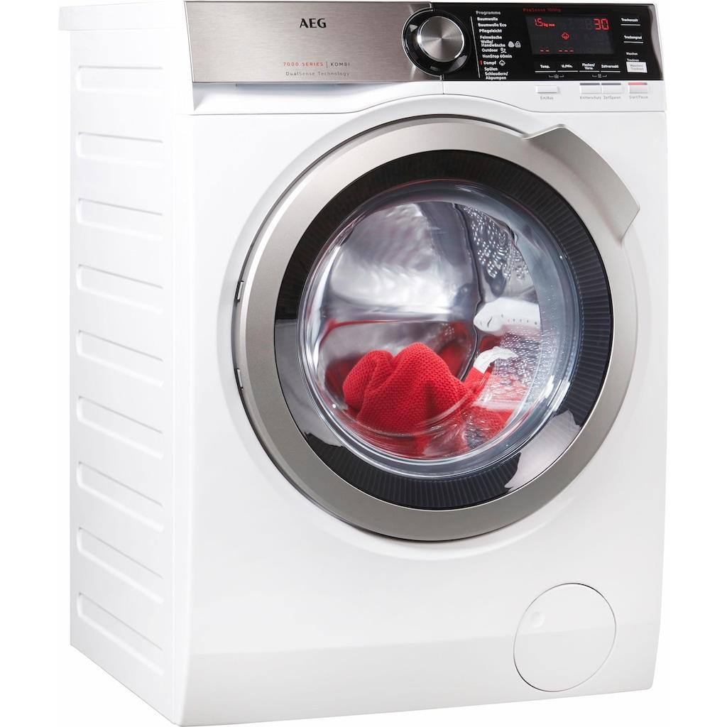AEG Waschtrockner »L7WE86605«, Serie 7000, mit DualSense für schonende Pflege