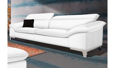 COTTA Polstergarnitur, (Set), Set: bestehend aus 3-Sitzer und Hocker, frei im Raum... kaufen