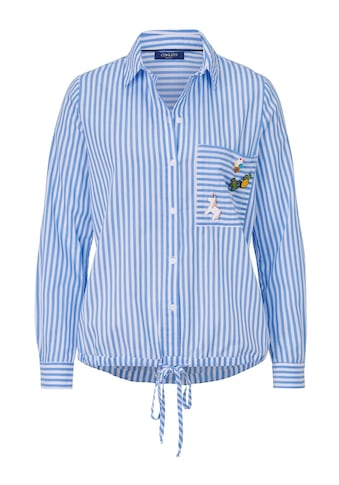 Conleys Blue Bluse Mit abnehmbaren Pins kaufen