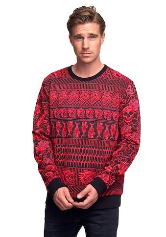 Rusty Neal Sweatshirt, mit extravagantem Muster kaufen