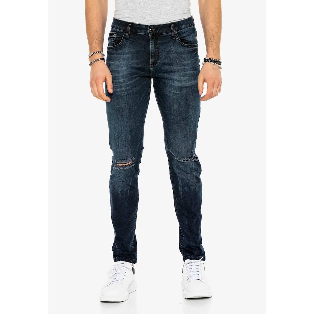 Cipo & Baxx Slim-fit-Jeans, im Slim Fit-Schnitt
