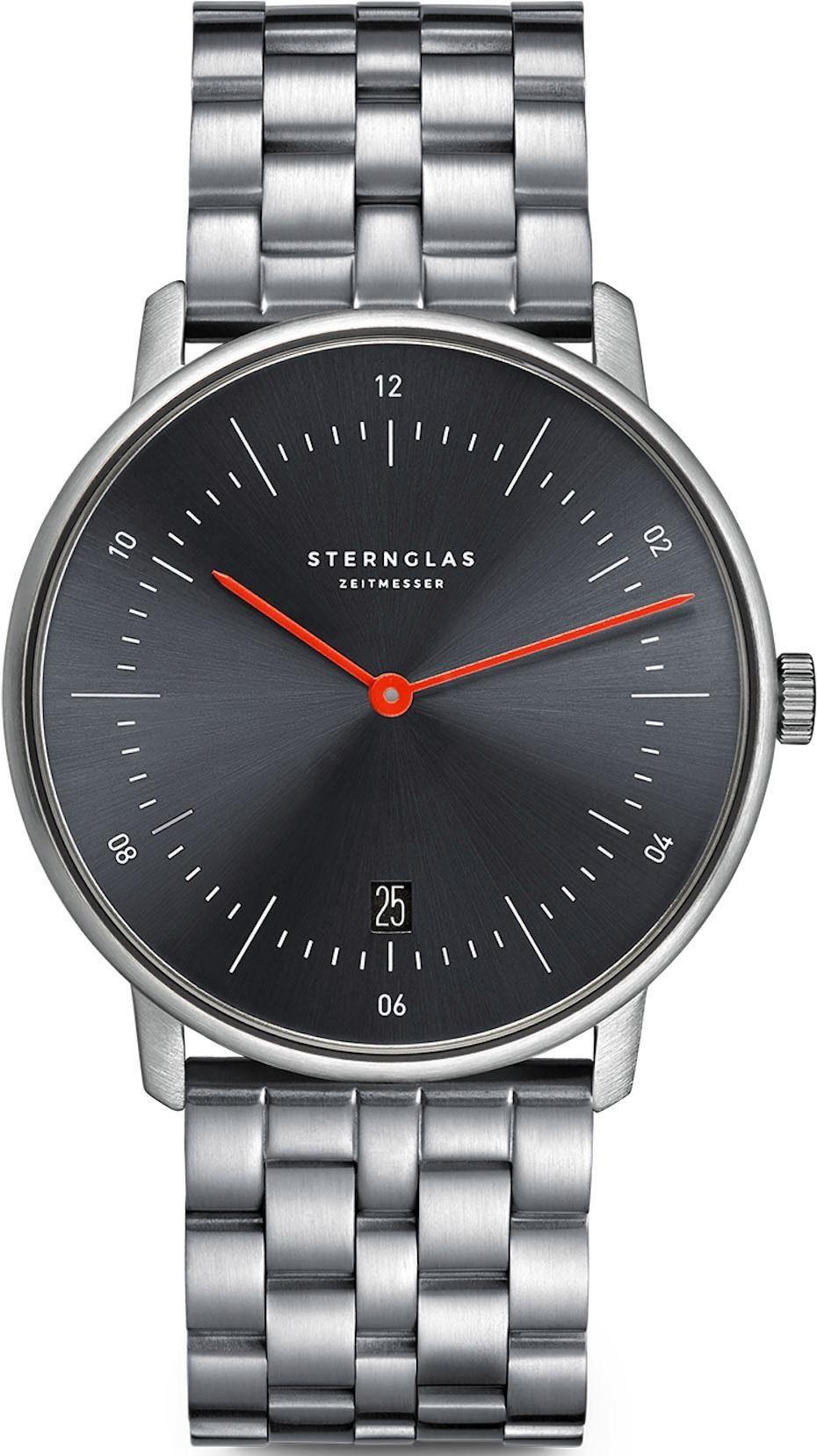 STERNGLAS Quarzuhr Naos Edition Basalt SNQ41/500   Uhren   Sternglas