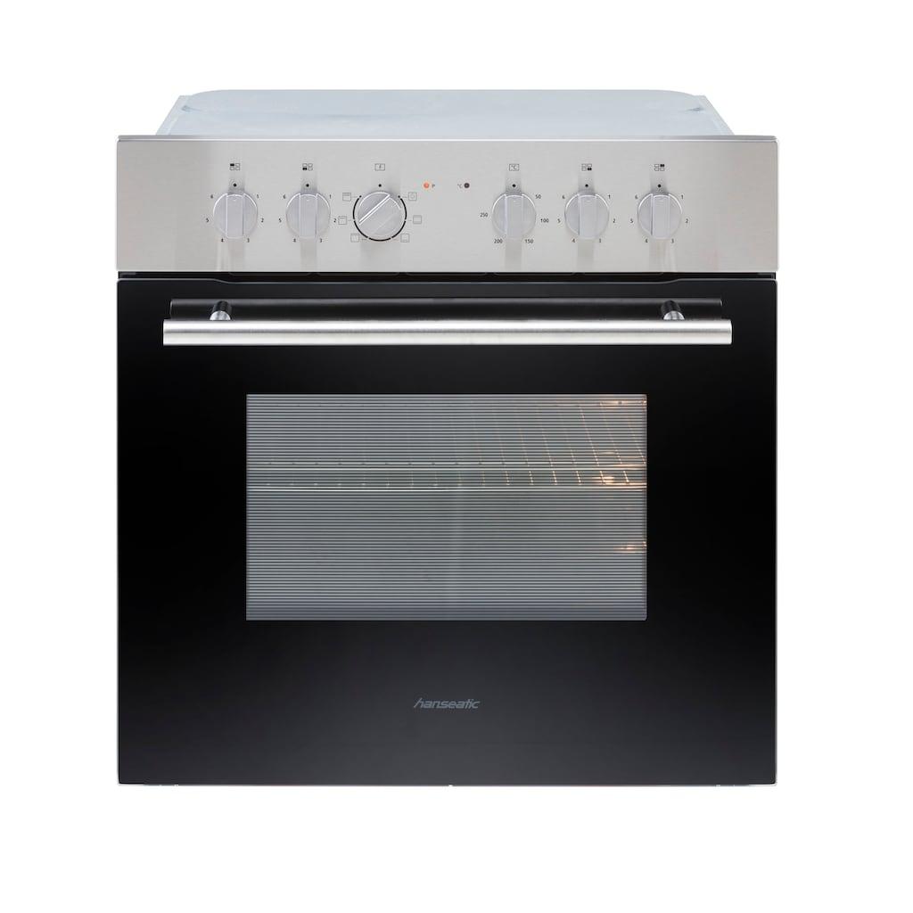 OPTIFIT Küchenzeile »Leer«, 240 cm breit, inkl. Elektrogeräte der Marke HANSEATIC