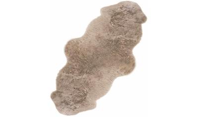 LUXOR living Fellteppich »Double«, fellförmig, 50 mm Höhe, echtes Lammfell,... kaufen