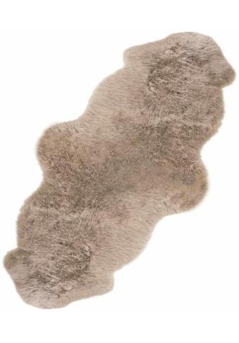 Fellteppich, »Double«, LUXOR living, fellförmig, Höhe 50 mm kaufen