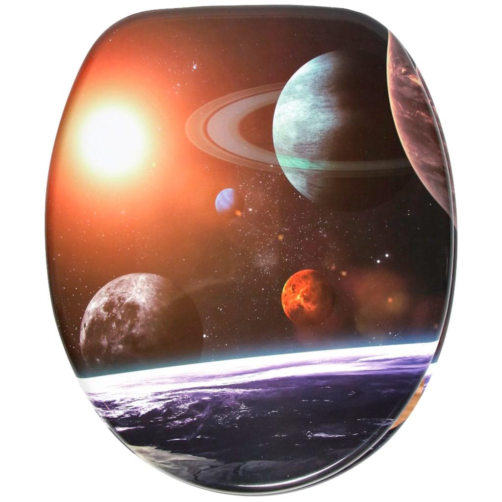Sanilo WC-Sitz »Planeten«, mit Absenkautomatik