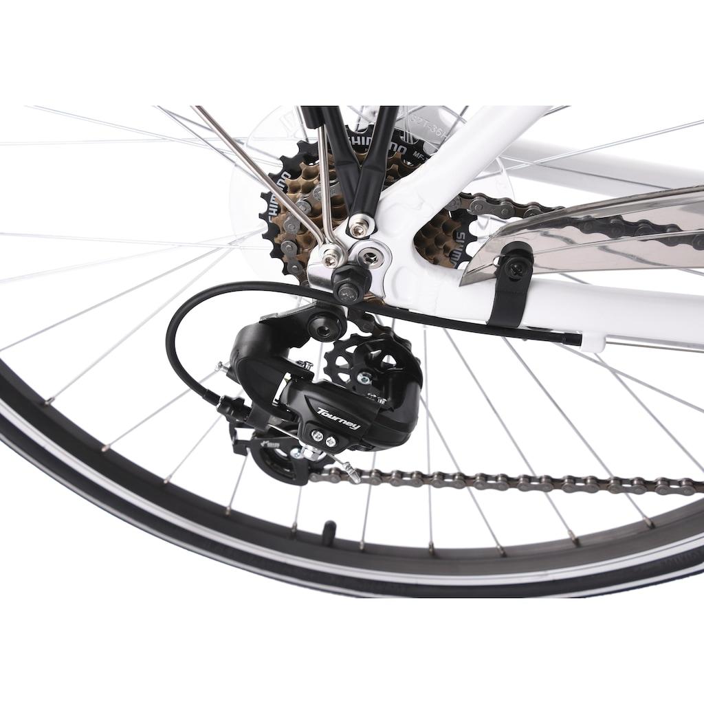 KS Cycling Trekkingrad »Metropolis«, 21 Gang, Shimano, Tourney Schaltwerk, Kettenschaltung