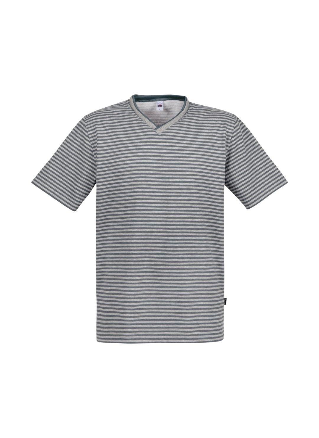 TRIGEMA V-Shirt DELUXE Baumwolle | Bekleidung > Shirts > Sonstige Shirts | Grau | Baumwolle - Polyester | Trigema