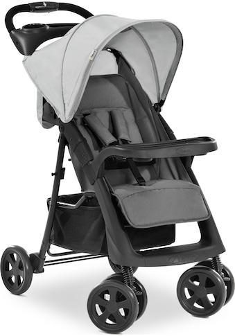 Hauck Kinder-Buggy »Shopper Neo II, grey«, 22 kg, mit schwenk- und feststellbaren Vorderrädern kaufen