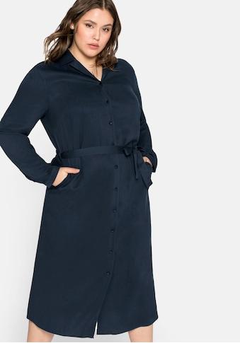 Sheego Blusenkleid, mit Reverskragen kaufen