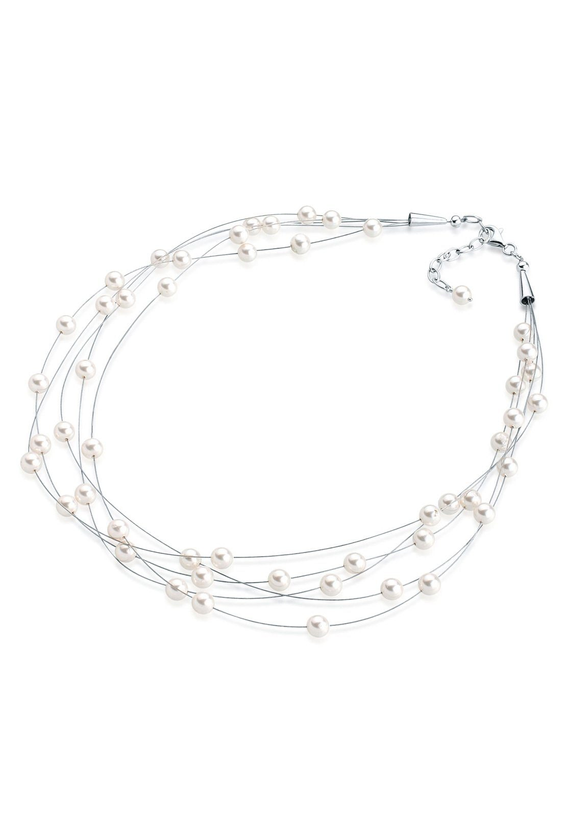 Elli Perlenkette »Multi-Chain Swarovski® Perlen...