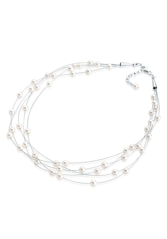 Elli Perlenkette »Multi - Chain Swarovski® Perlen 925 Sterling Silber« kaufen