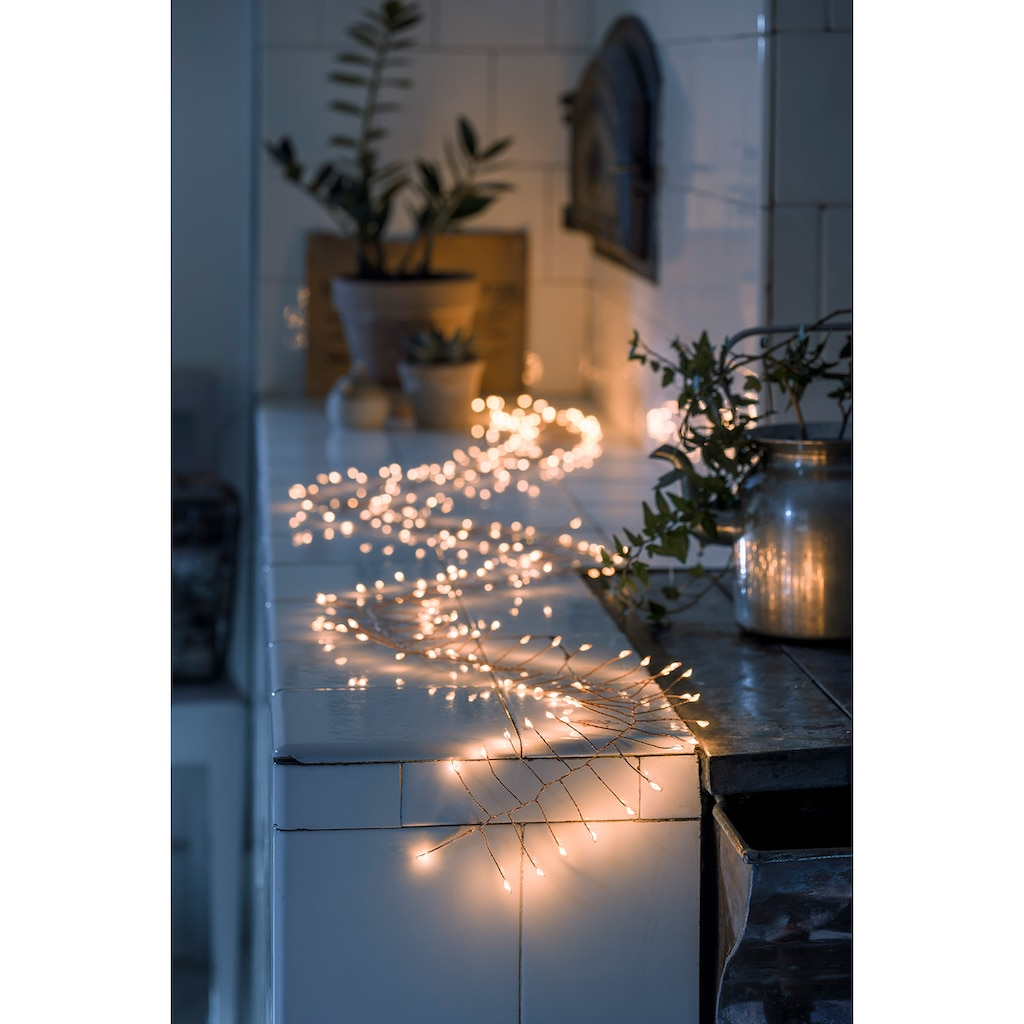 KONSTSMIDE Micro LED Lichterkette, Firecracker