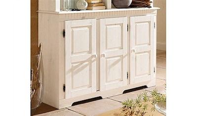 Home affaire Sideboard »Lisa«, aus schönem massivem Kiefernholz, wahlweise mit 3 oder... kaufen