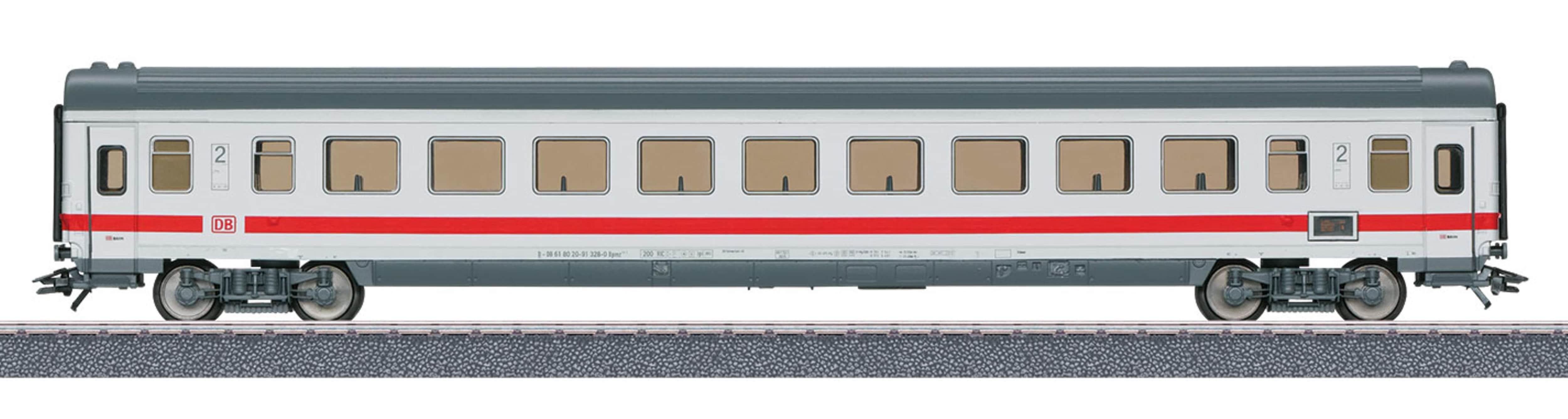 Märklin Personenwagen IC Schnellzugwagen 2. Klasse DB AG - 40501, Spur H0