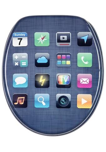 Sanilo WC-Sitz »App«, mit Absenkautomatik kaufen
