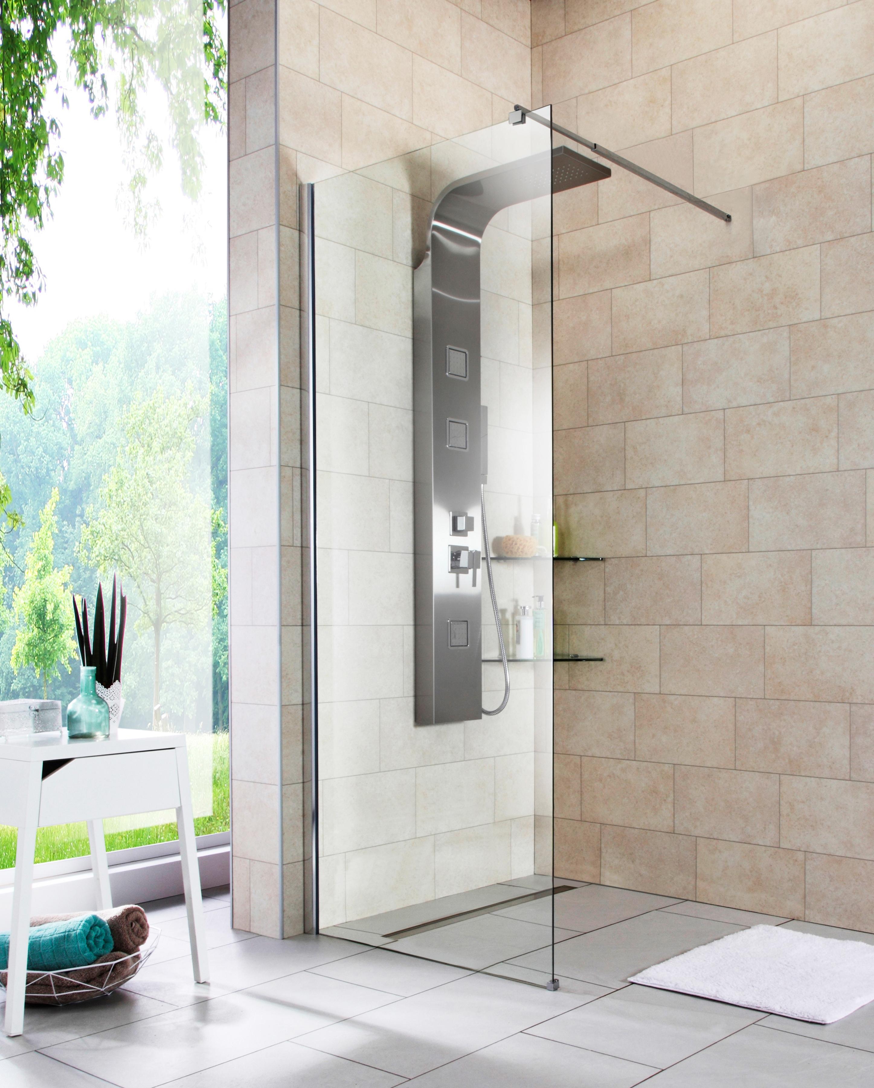 Walk-In Dusche »Duschabtrennung«, Breite 80 cm online bestellen | BAUR