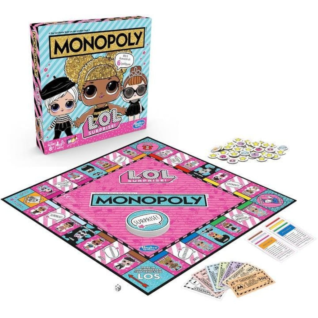 Hasbro Spiel »Monopoly L.O.L. Surprise!«, Made in Europe