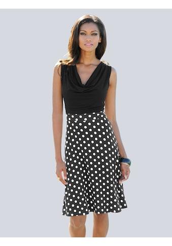 Alba Moda Strandkleid mit Wasserfallausschnitt kaufen