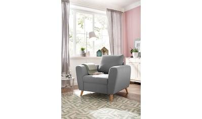 Home affaire Sessel »Penelope Luxus«, mit besonders hochwertiger Polsterung für bis zu 140 kg pro Sitzfläche kaufen