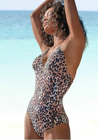 LASCANA Badeanzug »Lexa«, mit gelaserter Wellenkante kaufen