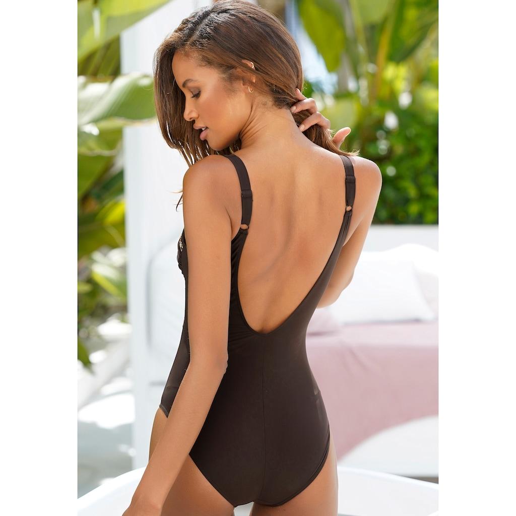 Sunflair Badeanzug, mit Zierringen