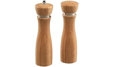 KESPER for kitchen & home Salz -  / Pfefferstreuer, (Set, 2 - tlg.) kaufen