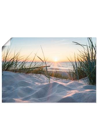Artland Wandbild »Ostseestrand« kaufen