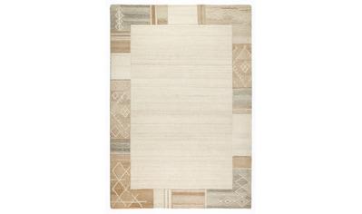 Dekowe Wollteppich »Valeria«, rechteckig, 11 mm Höhe, reine Wolle, Kurzflor, mit Bordüre, Wohnzimmer kaufen