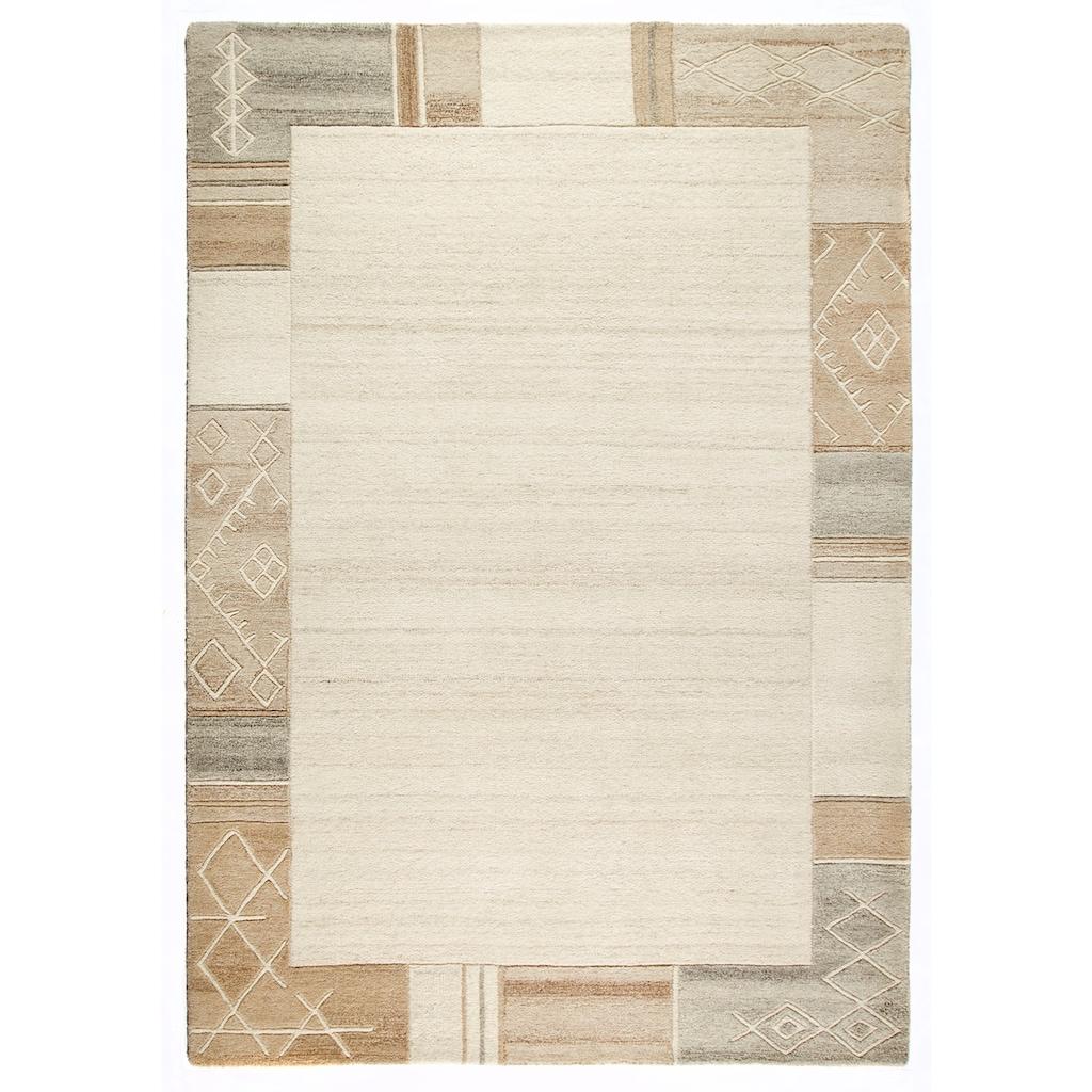 Wollteppich, »Valeria«, Dekowe, rechteckig, Höhe 11 mm, handgetuftet