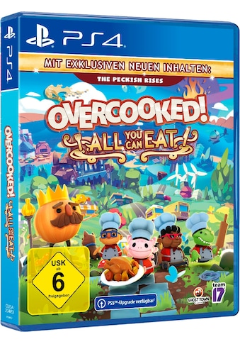 PlayStation 4 Spiel »Overcooked All You Can Eat«, PlayStation 4 kaufen