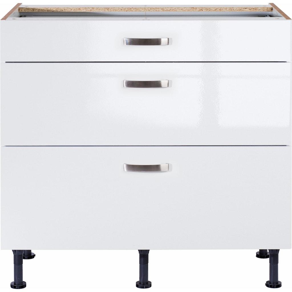 OPTIFIT Unterschrank »Cara«, Breite 90 cm, mit Vollauszügen und Soft-Close-Funktion