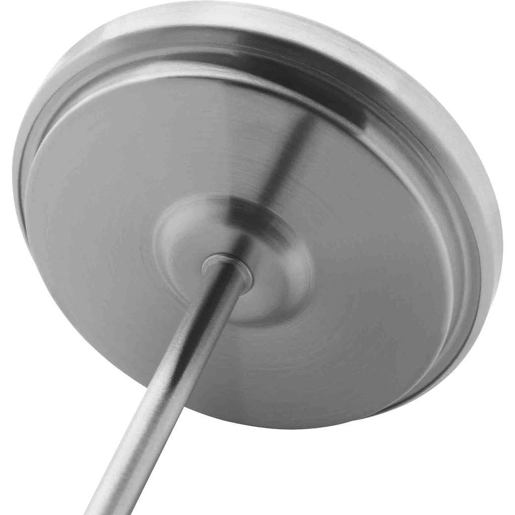 WMF Bräter, Cromargan® Edelstahl Rostfrei 18/10, (1 tlg.), Deckel als induktionsgeeignete Pfanne nutzbar, inkl. Bratenthermometer, 8,5 Liter