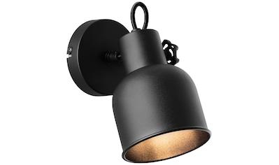 Brilliant Leuchten Wandstrahler, E14, Rolet Wandspot sand schwarz kaufen