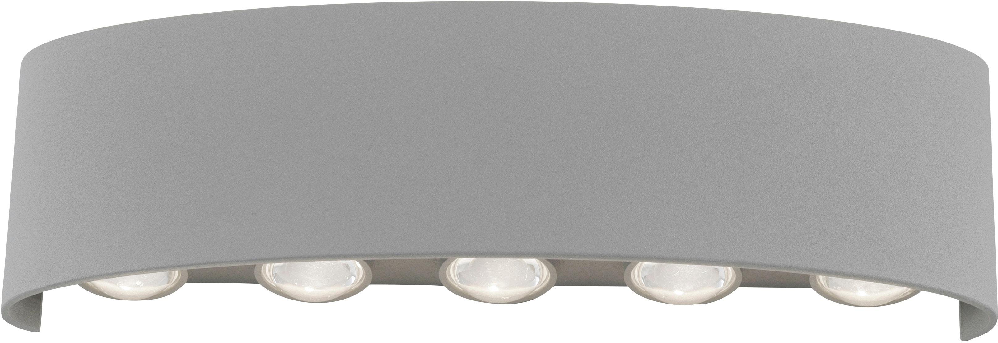 Paul Neuhaus LED Außen-Wandleuchte Carlo, LED-Board, 1 St., Warmweiß, Schutzart IP 54, Für Außen- und Innenbereich