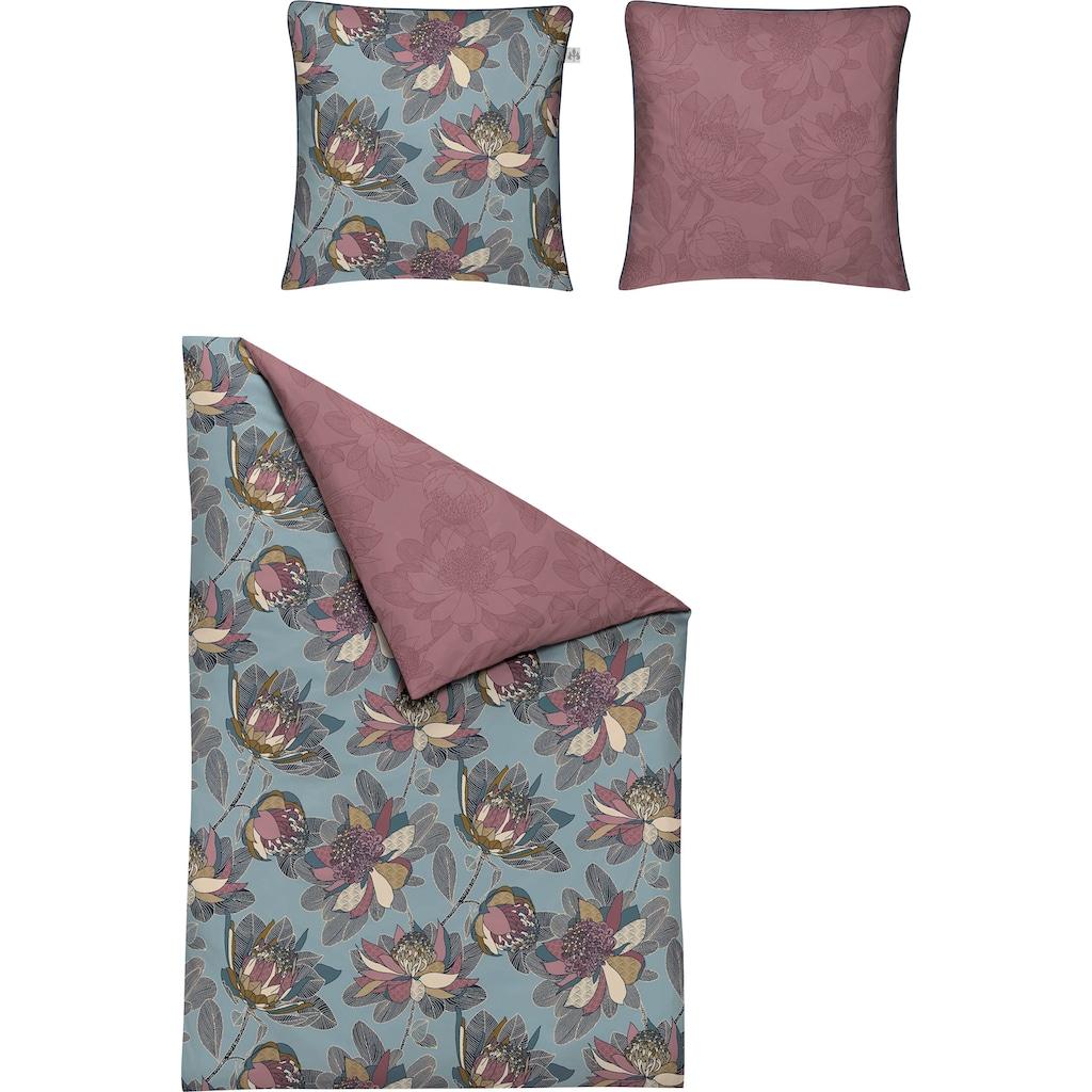 Irisette Wendebettwäsche »Elba 8250«, mit floralem Muster