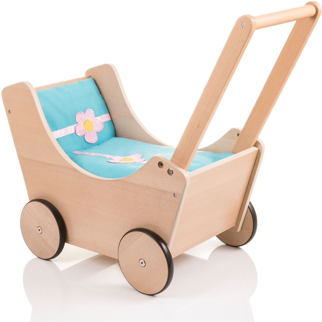 Sun Puppenwagen »Speedy Blümchen buche«, aus Holz
