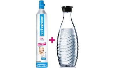 SodaStream Wassersprudler, (Set, 2 tlg.), Reservepack mit 1x CO2-Zylinder und 1x 0,6 L... kaufen