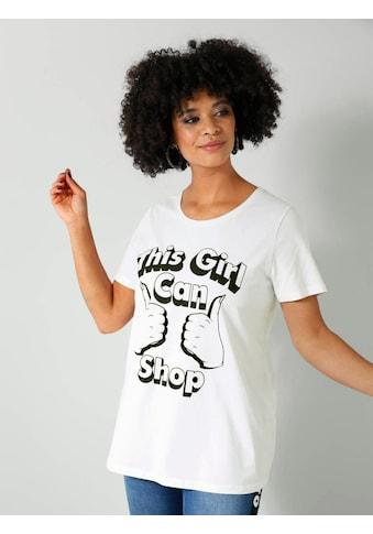 Angel of Style T-Shirt, mit Printmotiv kaufen