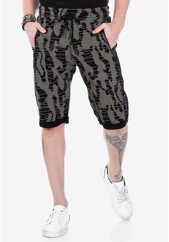 Cipo & Baxx Shorts, in lässiger Tarnmuster-Optik kaufen