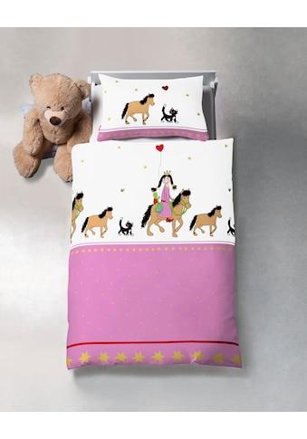 fleuresse Kinderbettwäsche »Kids«, Ausritt einer schönen Prinzessin kaufen