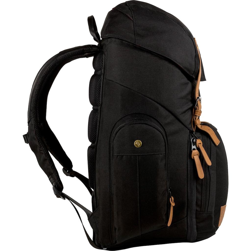 NITRO Laptoprucksack »Weekender, True Black«