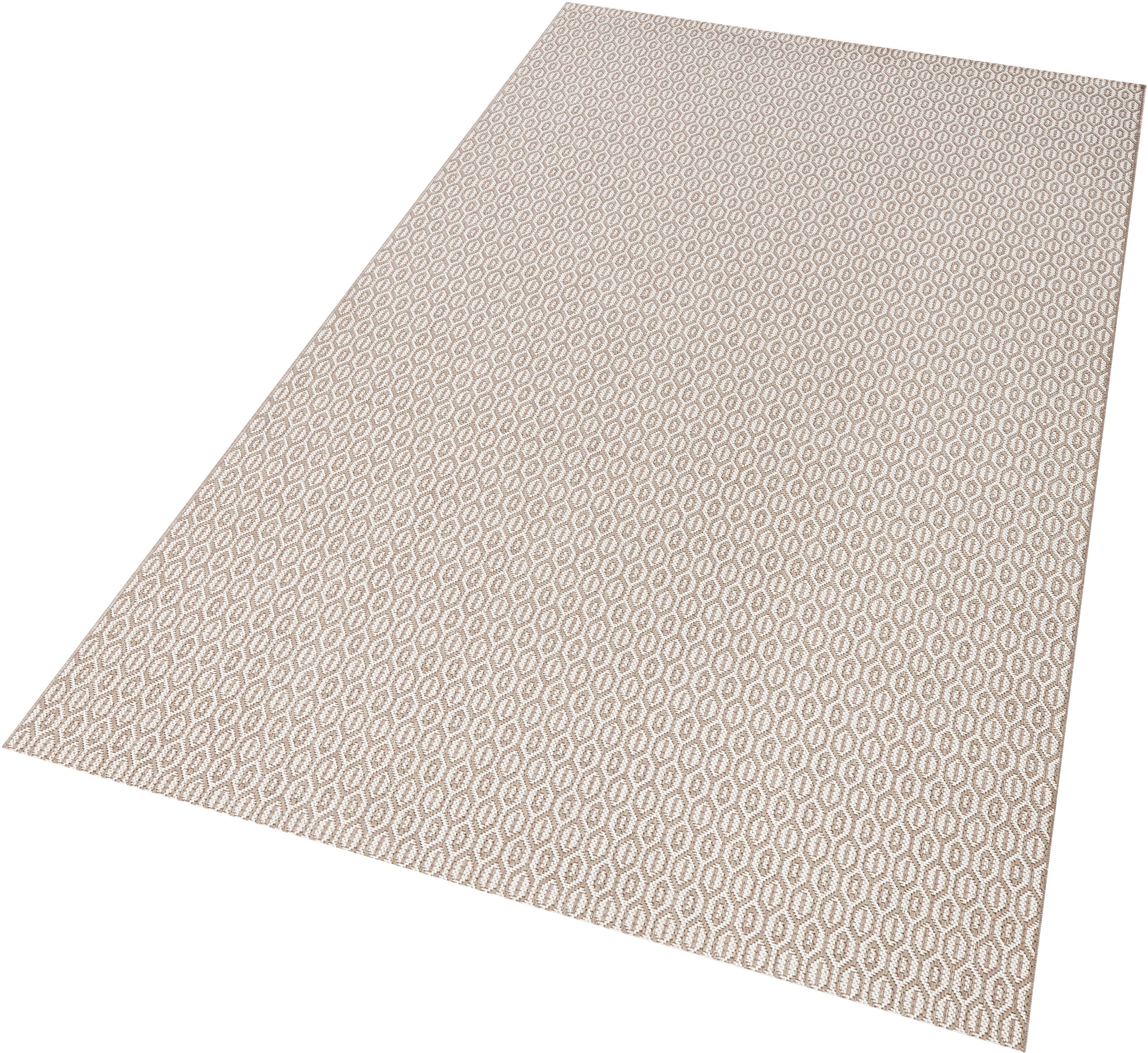 Teppich Coin bougari rechteckig Höhe 8 mm maschinell gewebt