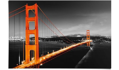 Reinders! Poster »San Fransisco Golden Gate Brücke«, (1 St.) kaufen