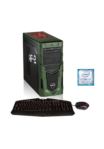 Hyrican Gaming PC i7 - 9700F, 16GB, 480GB SSD, 1TB HDD, RTX 2060 SUPER »Military 6424« kaufen